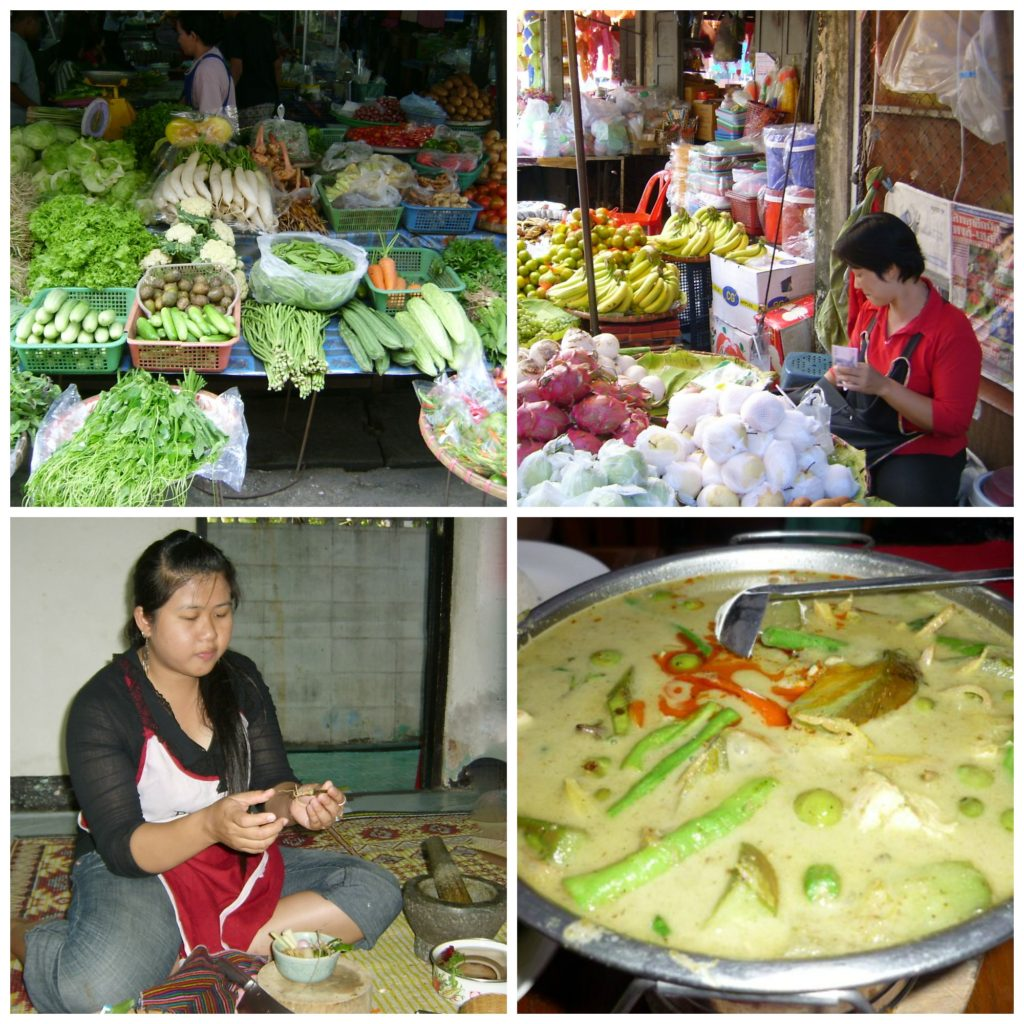 Cooking classes in Chiang Mai include a visit to the local markets