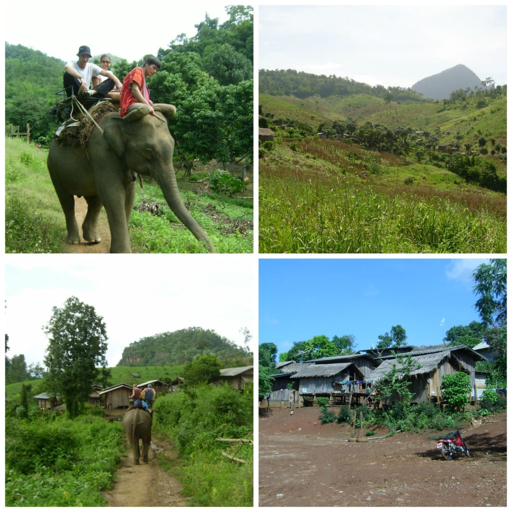Chiang Mai is a great base for treks into the northern Thai mountains - include elephant rides and local village visits