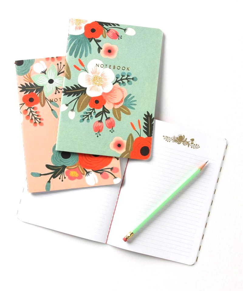 Increase creativity and productivity with these beautiful Sweet Briar Notebooks from Anthropologie.