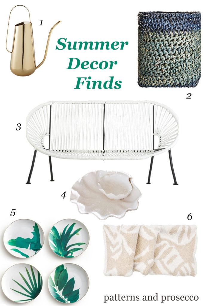 summer decor finds