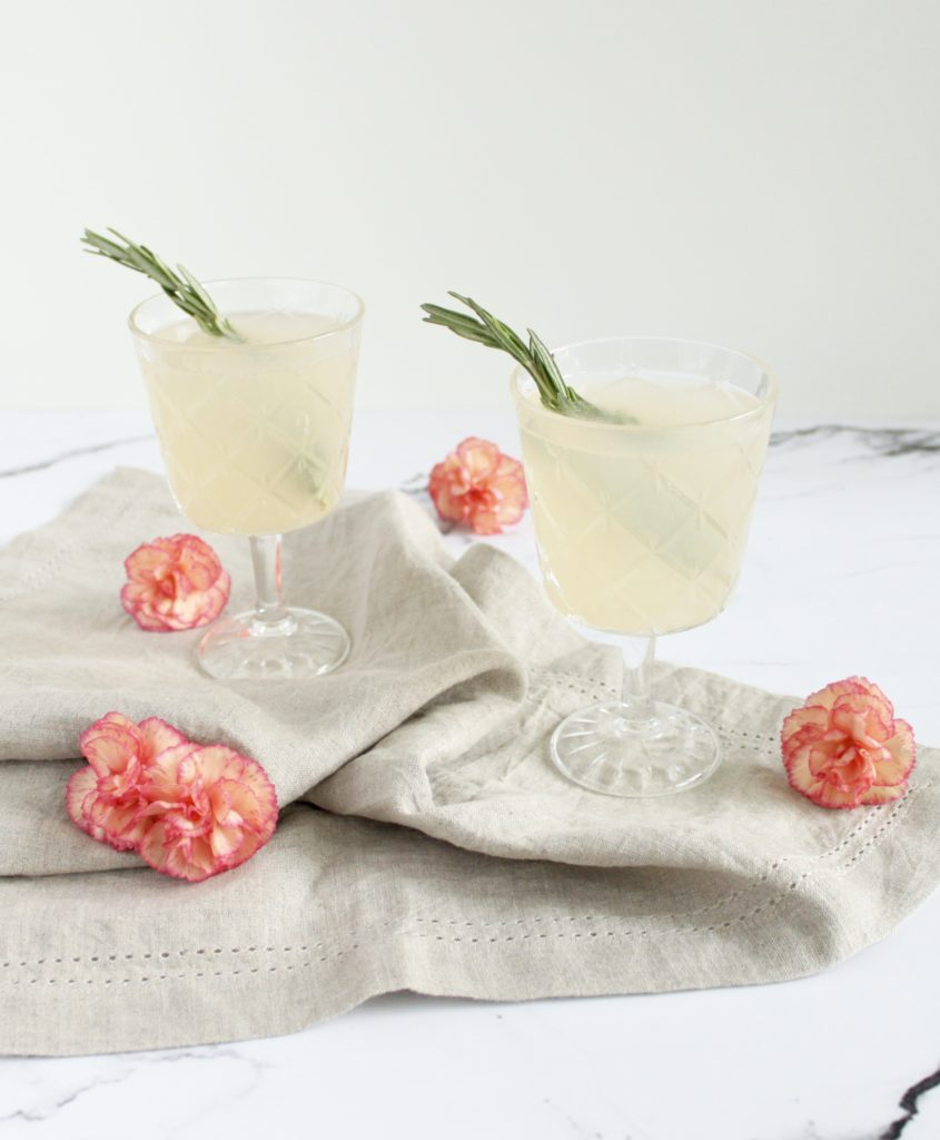 Elderflower Grapefruit Cocktail