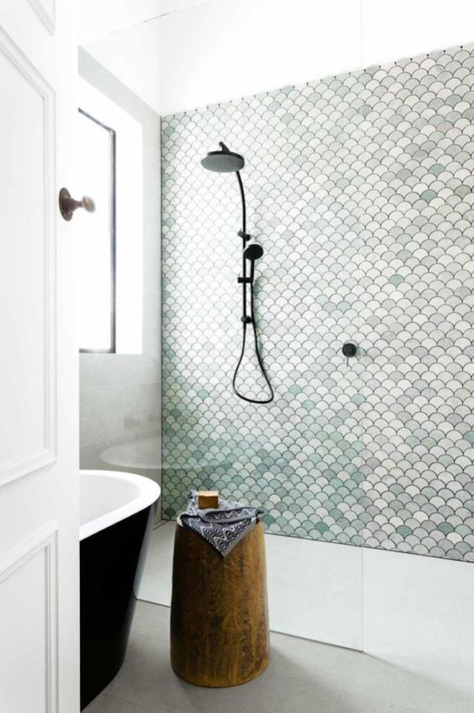 Tile Statement Wall