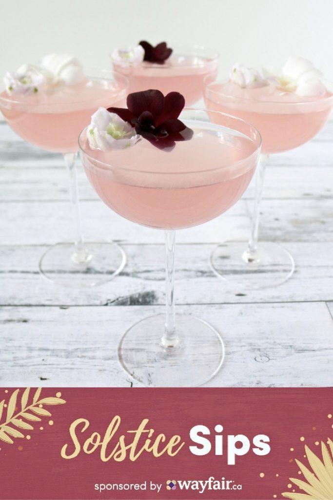 summer solstice cocktail