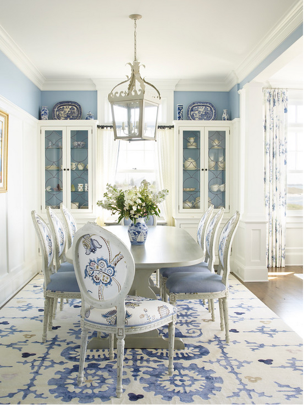Colour Crush French Blue Patterns Prosecco