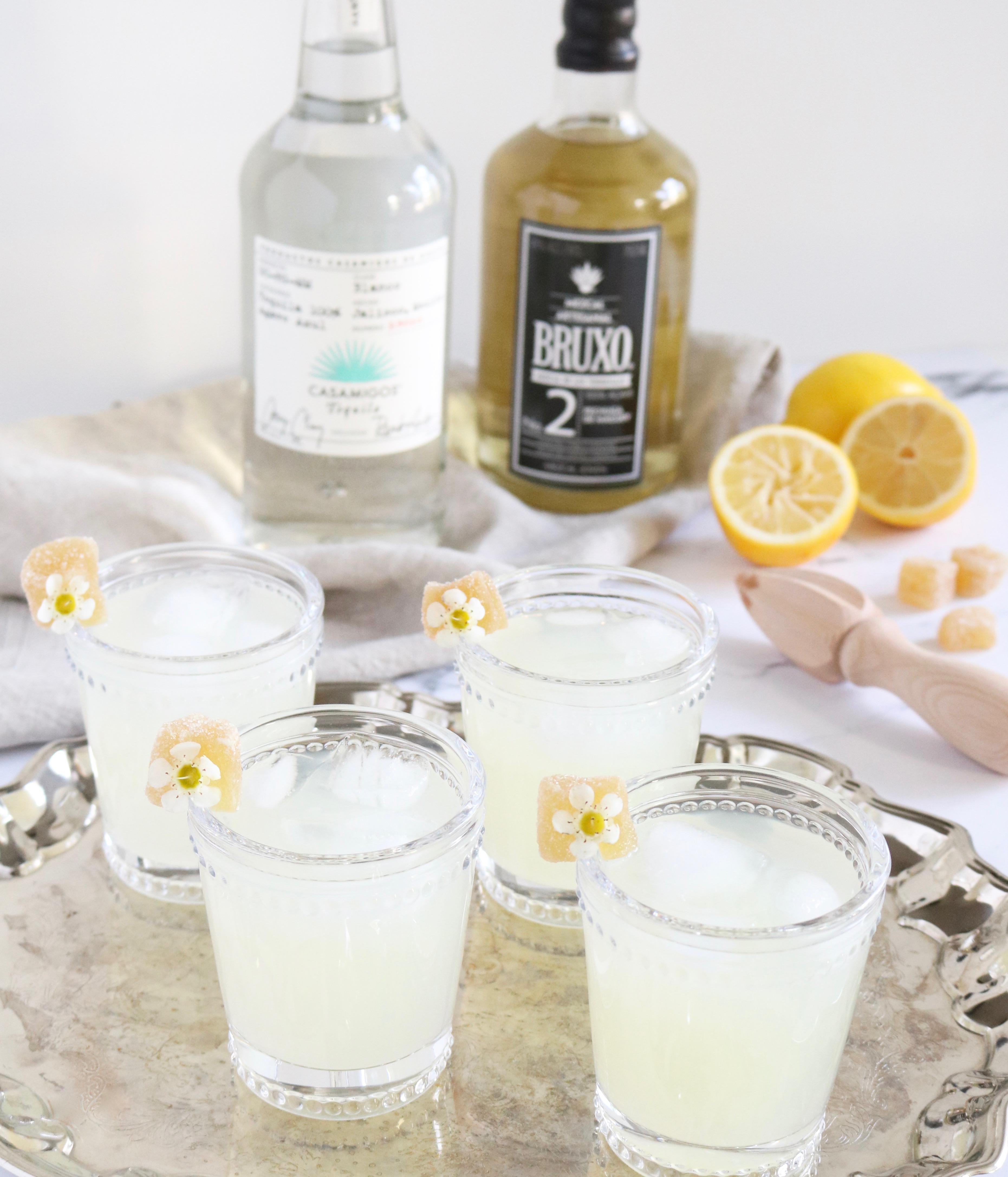 ginger mezcal cocktail