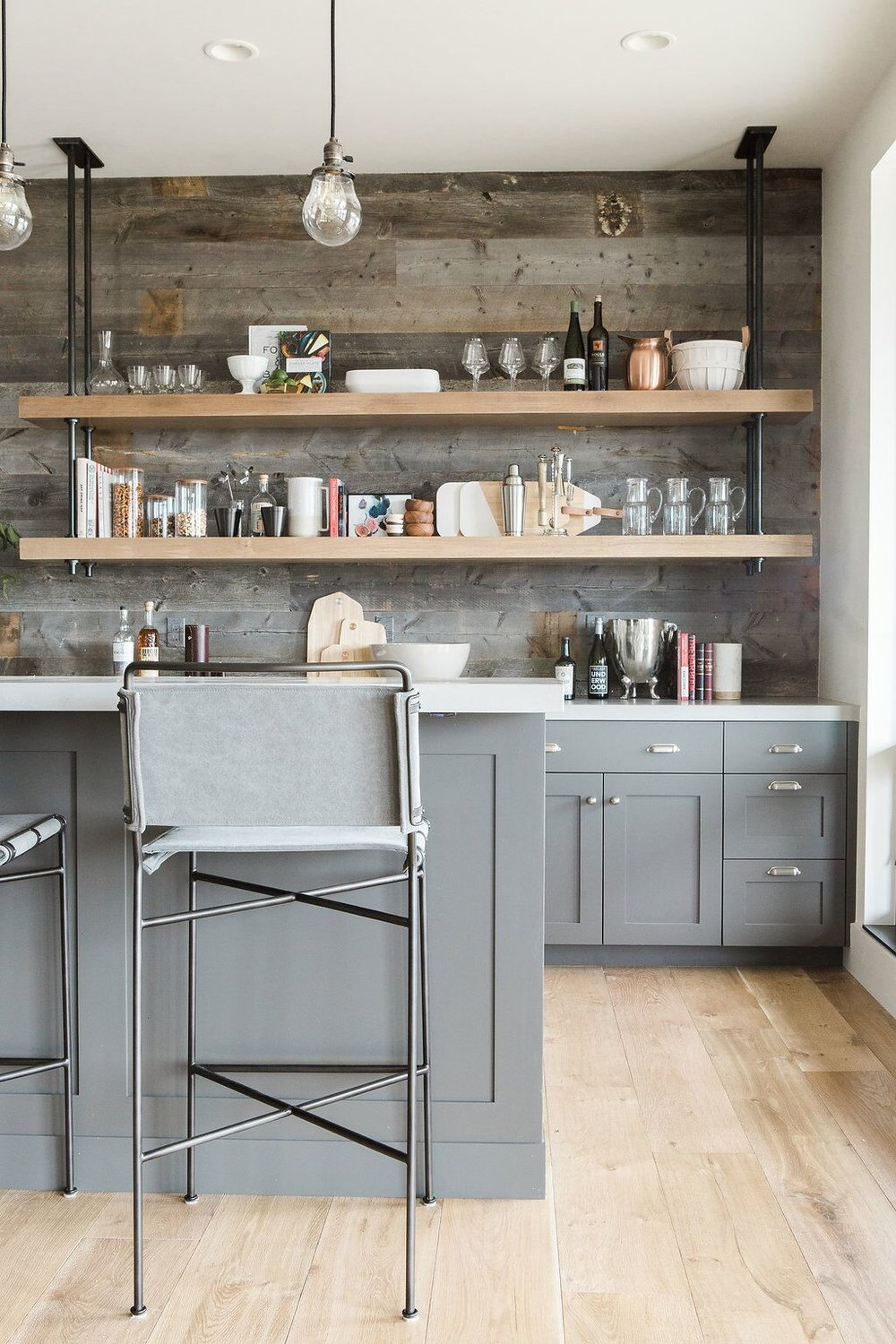 The Benefits Of Open Shelving In The Kitchen: Interior Trend: Open Shelving In Kitchens
