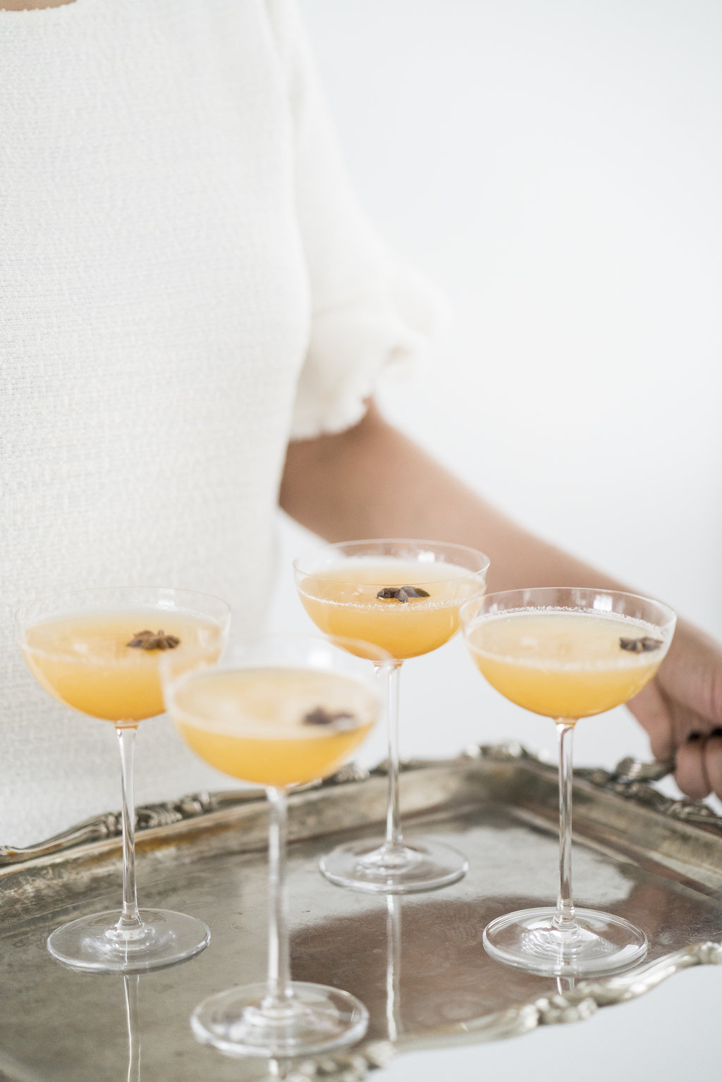 persimmon fall cocktail