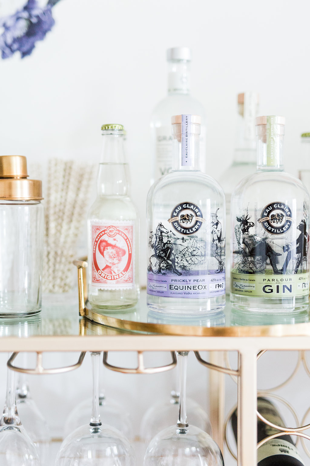 bar cart styling 101