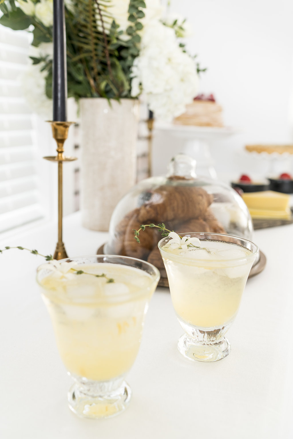 gin and jam fizz