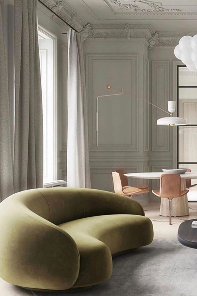 2020 Interior Design Colour Trends Olive Green