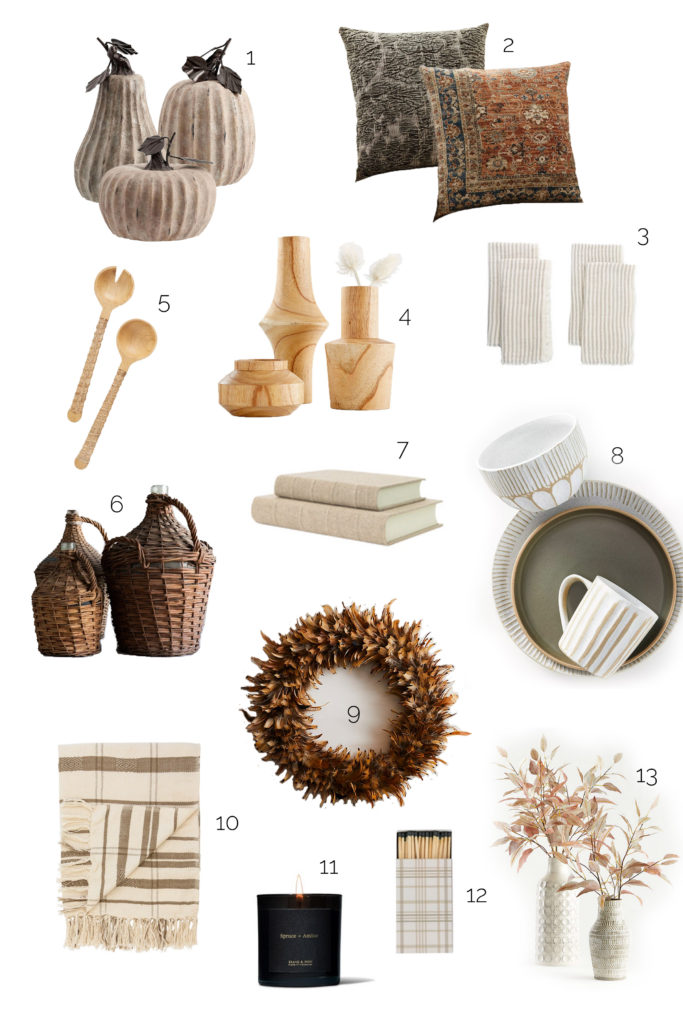 design roundup: fall decor
